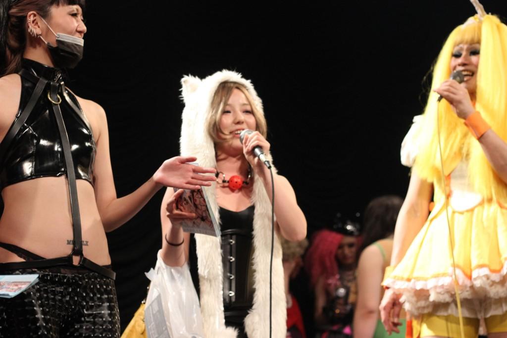 デパートメントH 2015年4月~春のオカマ祭で『水龍敬ランドxフェチフェス』が告知!水槽ガールには大人気の男の娘AV女優・大島薫さん!!